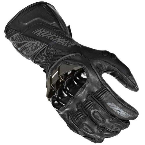 Joe Rocket Mens FLEXIUM TX Motorcycle Cowhide Glove black/black 3xlarge