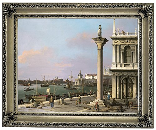 1750 Framed Canvas - Historic Art Gallery Bacino Di S. Marco: from The Piazzetta 1750 Framed Canvas Print, 11