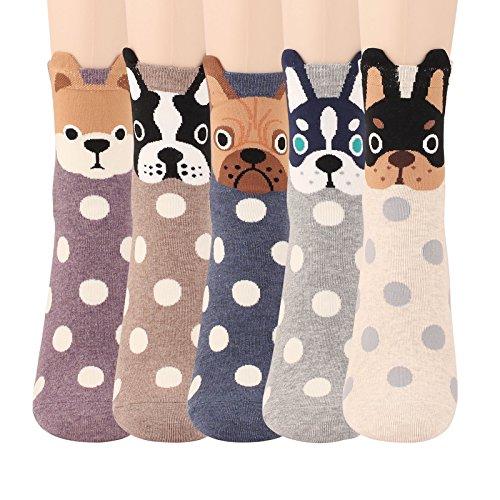 WOWFOOT Animal Casual Cotton Design