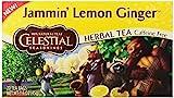 Herb Tea, Lemon Ginger , 20 bag (pack of 6 ) ( Value Bulk Multi-pack)