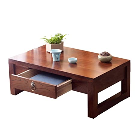 Amazon.com: Tables Wooden Japanese Style Coffee Living Room ...