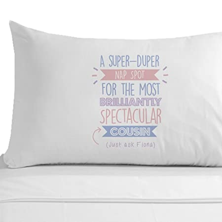 Personalised Super Cousin Pillowcase Birthday Gift Ideas Gifts For Her