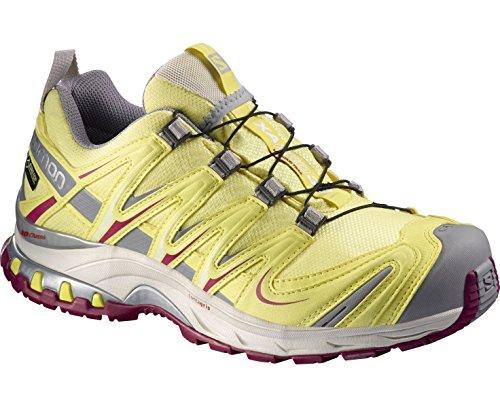 Salomon–XA Pro 3d Ultra 3GTX W–Zapatillas de running de competición Amarillo - amarillo