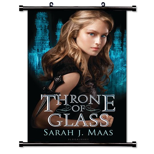 Throne of Glass (Sarah J Maas) Fabric Wall Scroll Poster (32 x 48) Inches