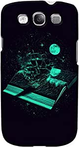 DailyObjects Crossing the Sea of Knowledge Case For Samsung Galaxy S3 Black