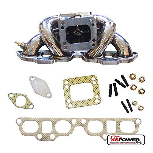 - Nissan 240SX Silvia S13 S14 S15 2.0L SR20DET Top Mount Turbo Manifold T3/T4
