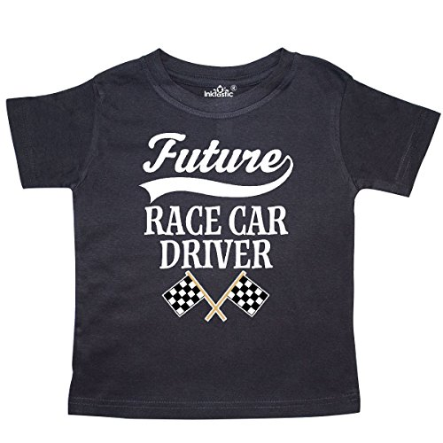 Race Car Driver Outfit (inktastic Future Race Car Driver Racing Toddler T-Shirt 2T Black)