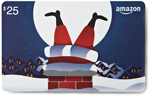 Large Product Image of Amazon.com $25 Gift Card in a Greeting Card (Fitting Christmas Design)