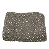 Newborn Photography Props Newborn Wraps Baby Photo Blanket, Basket Layer Filler Backdrops Dot Pattern Pretty Breathable Acrylic 59X39inch Grey