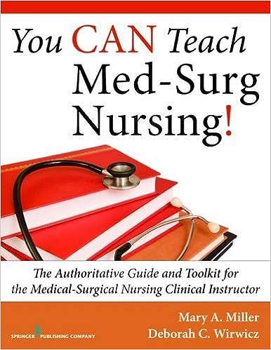 med surg nurse