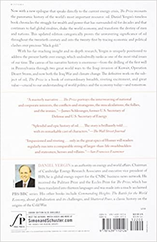 The Prize: The Epic Quest for Oil, Money & Power: Daniel Yergin ...