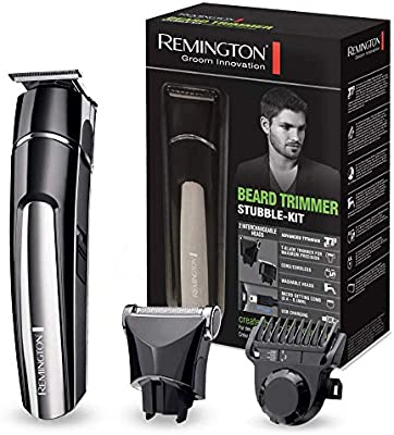 Remington MB4110 – Kit Barbero, Cuchillas Titanio, Recargable ...