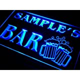 w-tm Name Personalised Custom Home Bar Beer Mugs Cheers Neon Sign