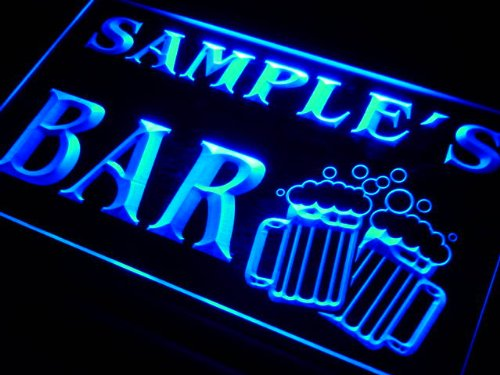w000597-b CHRISTIAN'S Name Home Bar Pub Beer Mugs Cheers Neon Light Sign
