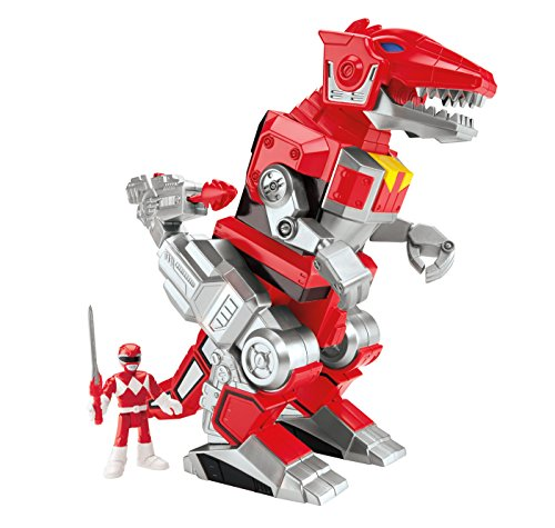 Fisher-Price Imaginext Power Rangers Red Ranger and T-rex Zord]()