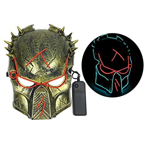 Predator 2 Helmet With Led Lights