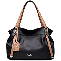ZOOLER Genuine Leather Handbags for Women Top Handle Bags Lady's Purse