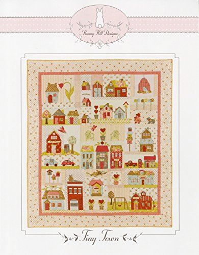 Tiny Town Applique Quilt Pattern by Bunny Hill Designs 52