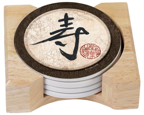 CounterArt Fortune Tablets Absorbent Coasters