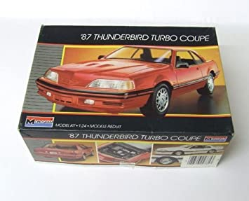 Monogram 87 Thunderbird Turbo Coupe Model Kit