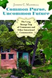 Common Purse, Uncommon Future, Joseph C. Manzella, 0313384622