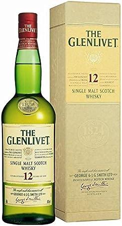 THE GLENLIVET PURE SCOTCH MALT SCOTCH WHISKY 12 AÑOS 70 CL GEORGE SMITH'S