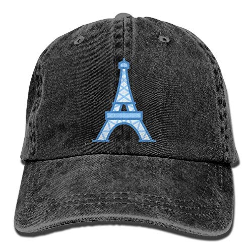 Paris Cowgirl Cowboy Skull Eiffel for Men Sport DEFFWB Denim Tower Hat Women Hats Cap 5ZTqnx1Hw