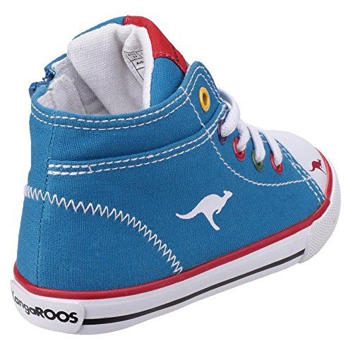 EU Bleu Vulc KangaRoos Roi Baskets 2036 22 Enfant xYXROY4