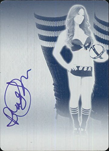2012 Bench Warmer Soccer Sox Printing Plates Front Cyan Autographs #2 Brandy Grace - NM-MT - Foot Brandy