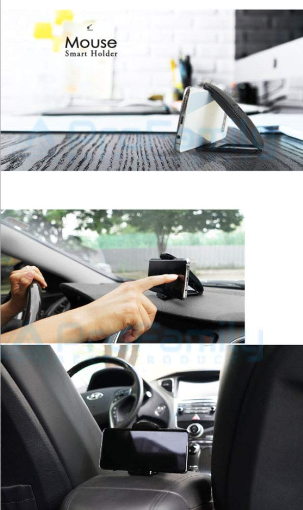 Car Phone Mount Universal Cell Phone Holder for Car Dashboard Smartphone Holder iPhone Samsung All Smartphone