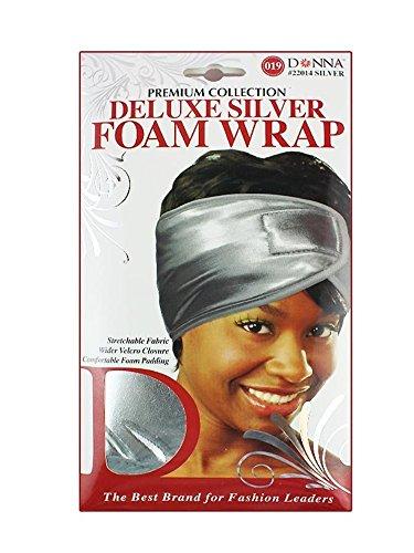 Dream Deluxe Satin (Donna's Premium Stretchable Deluxe Gold Foam Wrap (Silver))