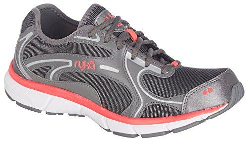 RYKA-Womens-Prodigy-2-Stretch-Running-Shoe-BlackGreyCoral-75-W