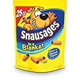 Snausages in a Blanket Dog Treats, Beef and Cheese Flavor, 25 ounce (pack of 3) by Snausages For Sale