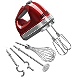 KitchenAid KHM926CA 9-Speed Digital Hand Mixer with Turbo Beater II Accessories and Pro Whisk