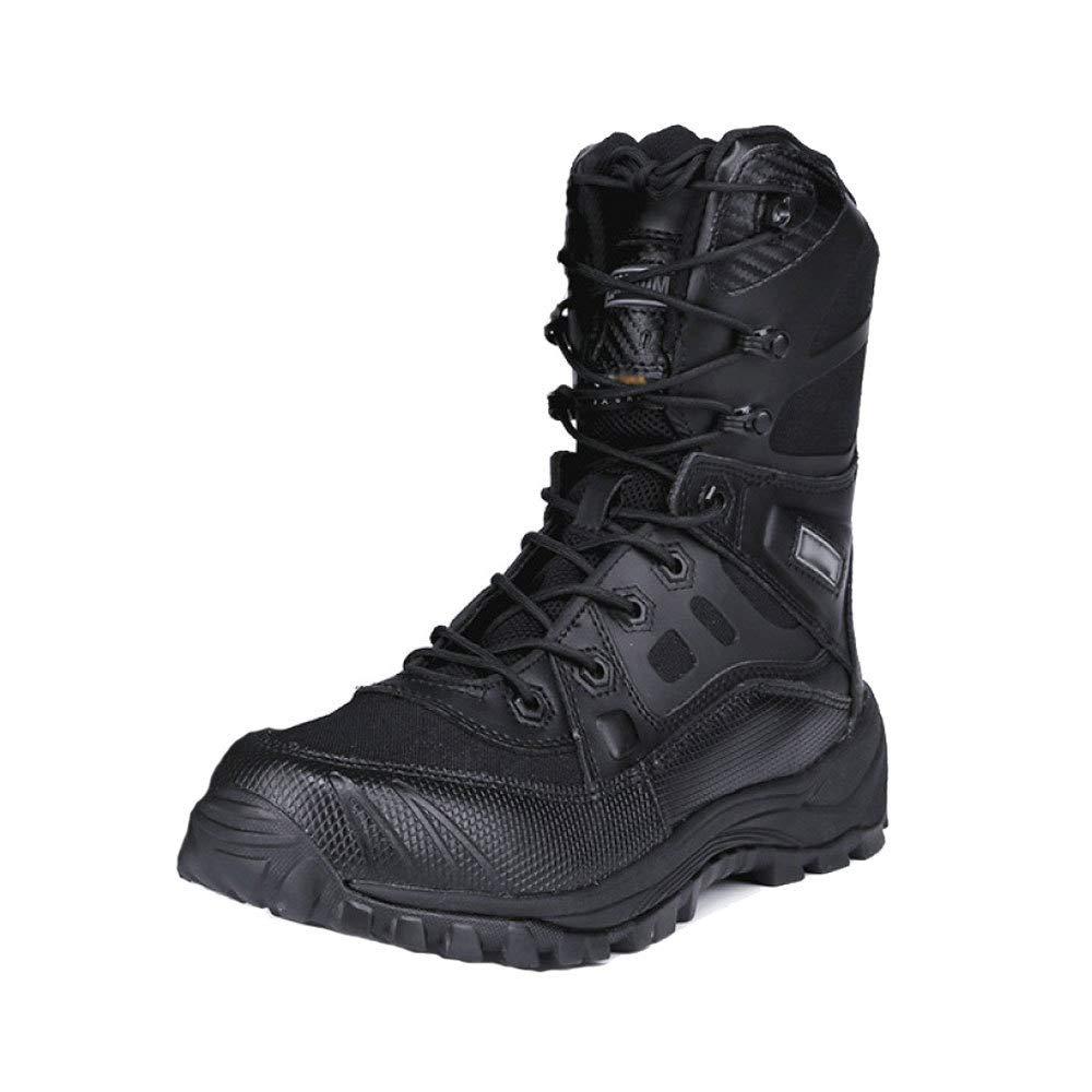 QIKAI Botas T/ácticas Magnum Botas T/ácticas De Exterior para Hombre Altas para Ayudar A Combatir Las Fuerzas Especiales