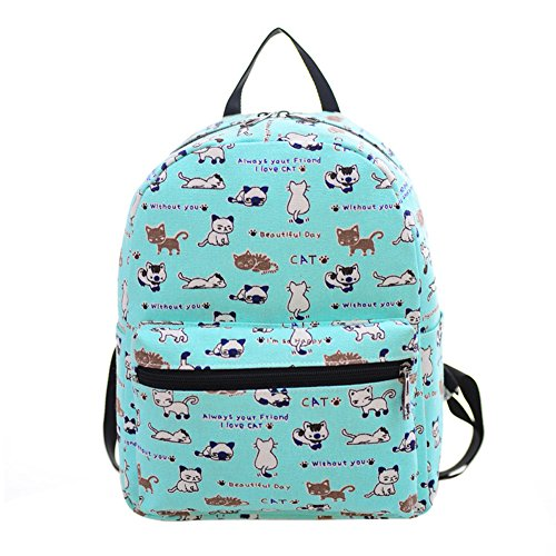 Full Sized Canvas Backpack - 7