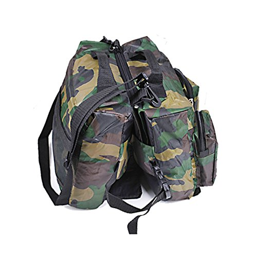Lemonbest Large Removable Pet Dog Harness Bag Medium - Camo Dog Backpack