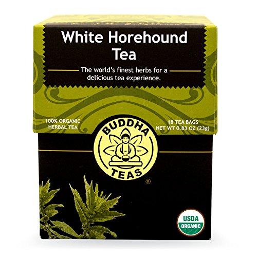 Buddha Teas White Horehound Tea, 18 Count (Pack of 6)