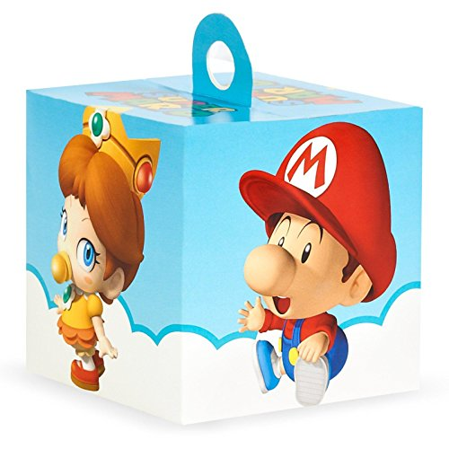 Waluigi Costume Adults (Super Mario Bros Babies Party Supplies Empty Favor Boxes (4))