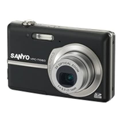 amazon com sanyo xacti vpc t1060 10mp digital camera w 3x optical rh amazon com
