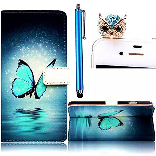Samsung Galaxy S8 Funda peil con Tapa, Vandot 3in1 PU Cuero Capas Caja Carcasa de Teléfono Concha Shell Bumper Wallet Flip Case Cover con Soporte Función Tarjeta Ranura Billetera Botón Magnético para  HSD 02