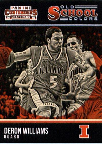 (2015 Panini Contenders Draft Picks Old School Colors #44 Deron Williams Basketball Card )