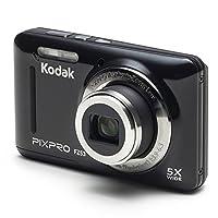 Kodak PIXPRO FZ53 Digital Camera (Black) + 32GB Memory Card + Deluxe Point and Shoot Camera Case + Extendable Monopod + Lens Cleaning Pen + LCD Screen Protectors + Table Top Tripod – Ultimate Bundle by Kodak