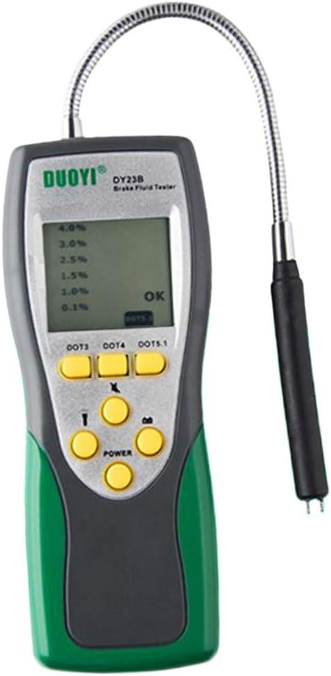 DOT-4 Handheld Brake Fluid Tester Brake Oil Detector Diagnostic Tools Universal for Most Vehicle /& High Precision to Test DOT-3 DOT-5 Brake Fluid