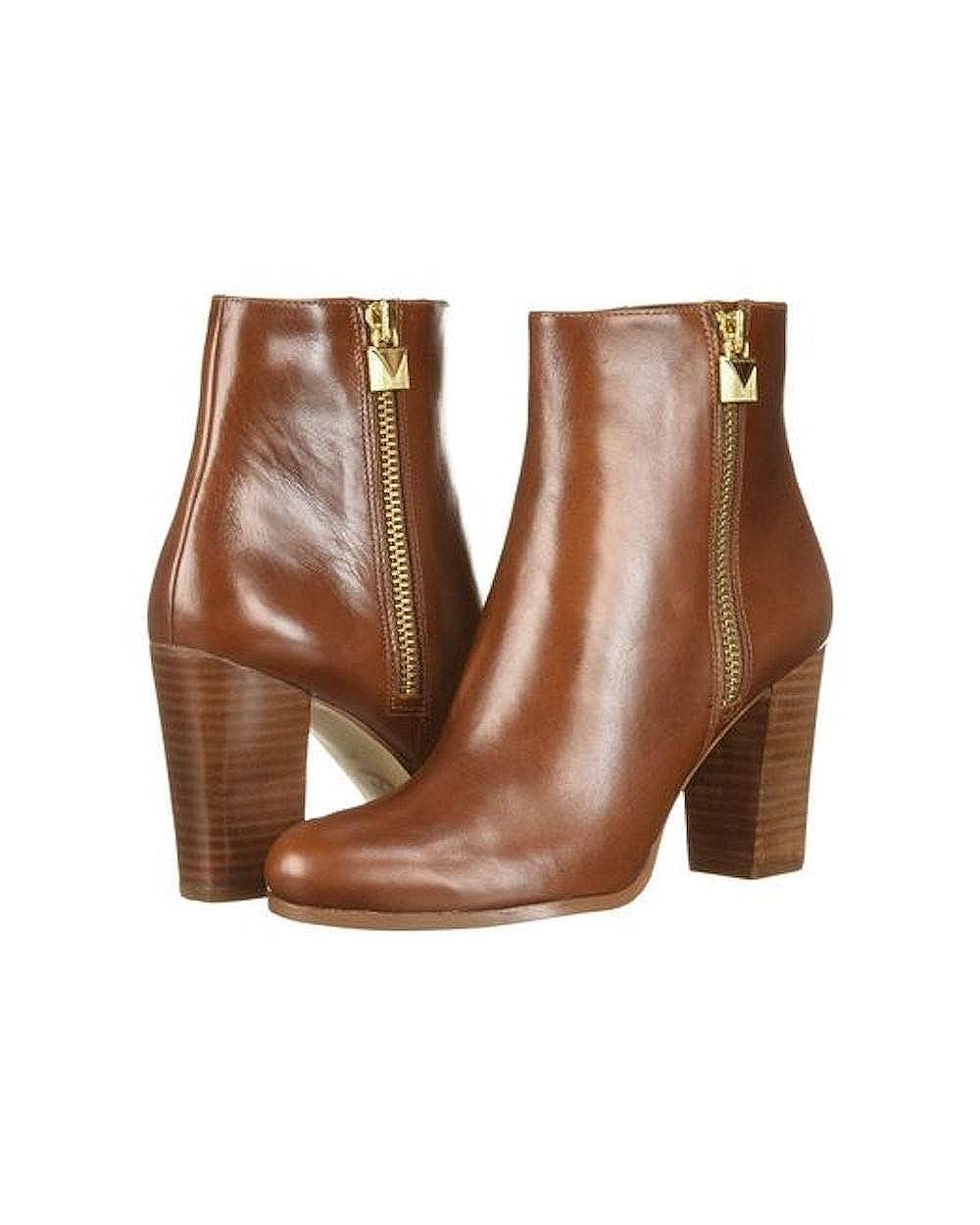 20ffad6b3d0 Michael Michael Kors Womens Margaret Bootie Leather Almond Toe Ankle Fashion