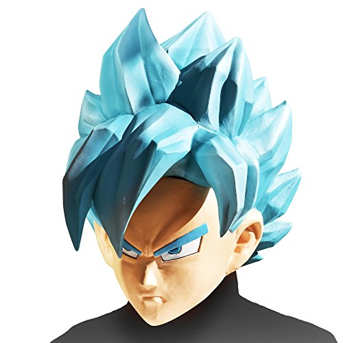 Dragon Ball Z Super Saiyan God Goku Mask (Goku Super Saiyan Costume)