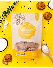 Glutenull Bakery Chocolate Chip Cookies, Low Sugar, Gluten Free, 210 Grams