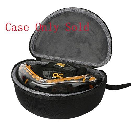 Caseling Hard CASE fits DEWALT DPG82-11 DPG82-21 safety Goggle.