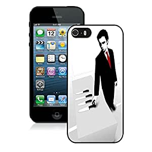 Unique Custom Designed Weapon of Choice iPhone 5 5s 5th Generation Black Phone Case CR-683