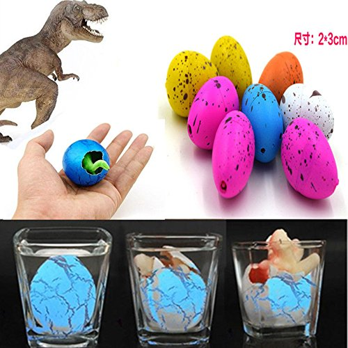 [6X Magic Hatching Dinosaur Add Water Growing Dino Eggs Inflatable Child Kid Toy] (Barney Infant Costumes)